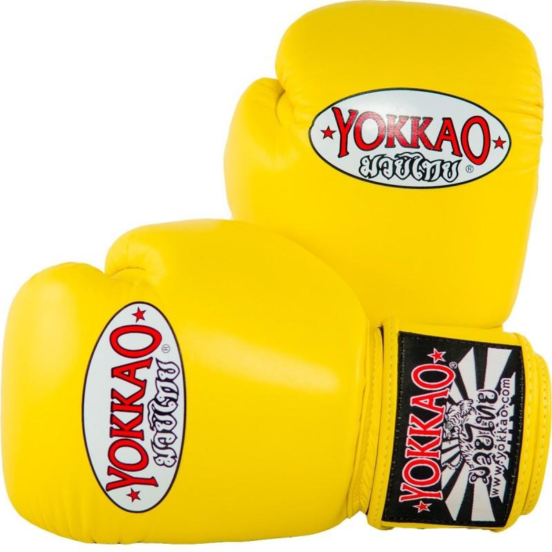 Yokkao Rękawice bokserskie Matrix Żółte
