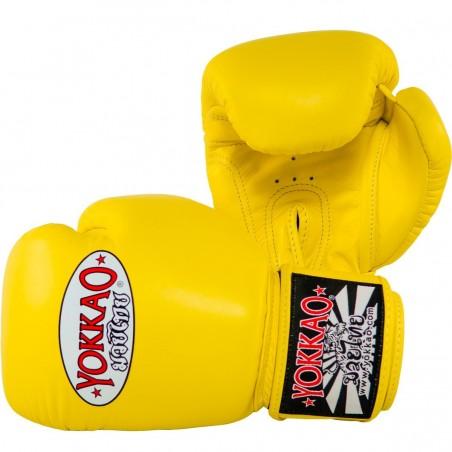 Yokkao Rękawice bokserskie Matrix Żółte 3