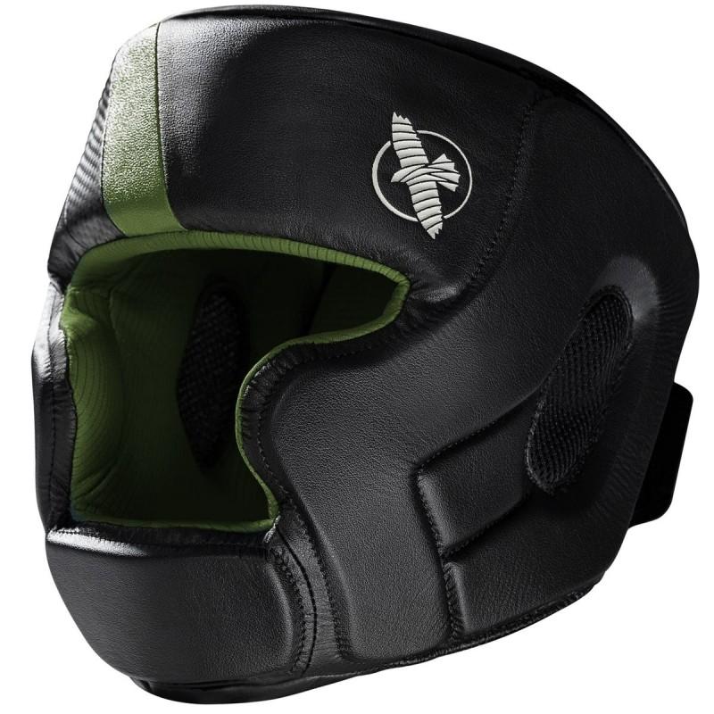 Hayabusa Kask Bokserski T3 Czarny/Zielony