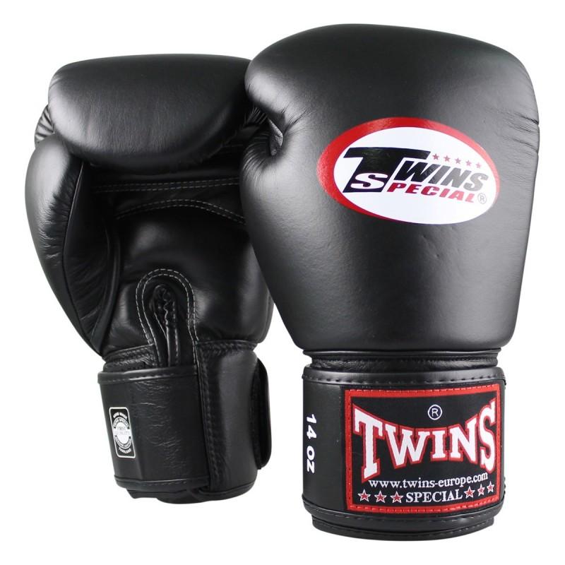 Twins Rękawice bokserskie BG-N Czarne