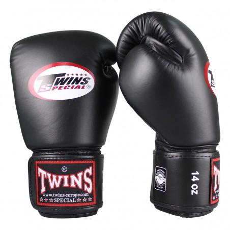 Twins Rękawice bokserskie BG-N Czarne 4