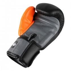 Twins Rękawice bokserskie BGVL-3 Czarne/Szare/Pomarańczowe 1