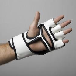 Fight Pro Rękawice do MMA 4oz Basic Białe 3