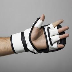 Fight Pro Rękawice do MMA 7oz Basic Białe 4