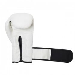 Fight Pro Rękawice bokserskie Basic Białe 1