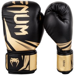 Venum Rękawice bokserskie Challenger 3.0 Czarne/ Złote 2