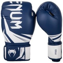 Venum Rękawice bokserskie Challenger 3.0 Granatowe/Białe 2