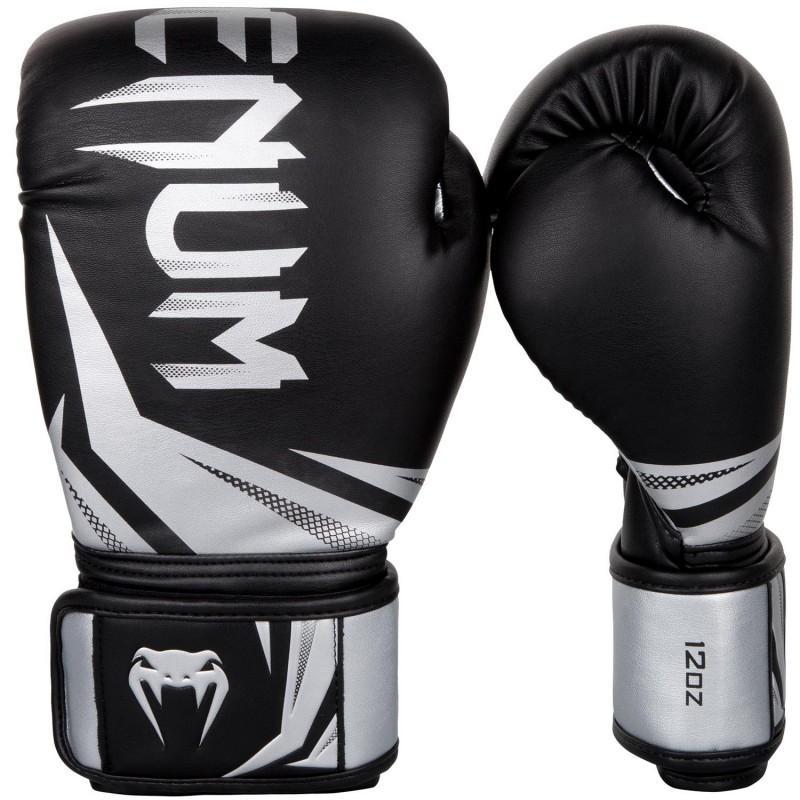 Venum Rękawice bokserskie Challenger 3.0 Czarne/Srebrne