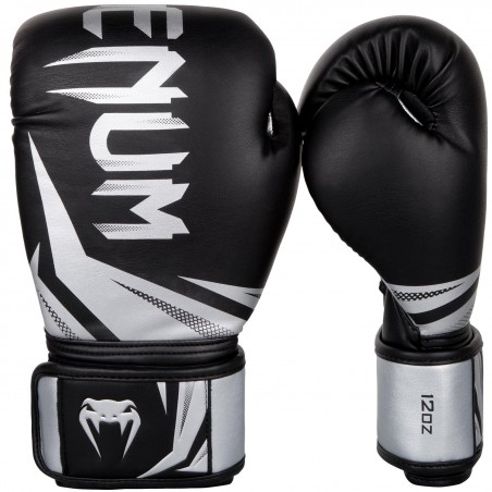 Venum Rękawice bokserskie Challenger 3.0 Czarne/ Srebrne 1
