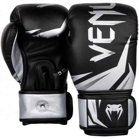 Venum Rękawice bokserskie Challenger 3.0 Czarne/ Srebrne 2