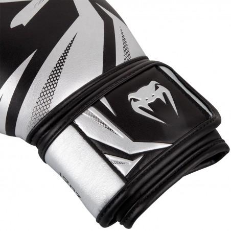 Venum Rękawice bokserskie Challenger 3.0 Czarne/ Srebrne 3