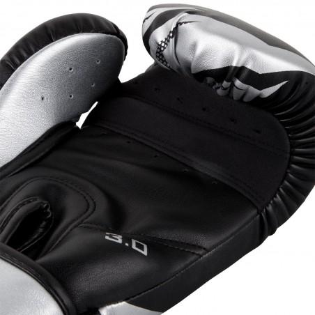 Venum Rękawice bokserskie Challenger 3.0 Czarne/ Srebrne 4