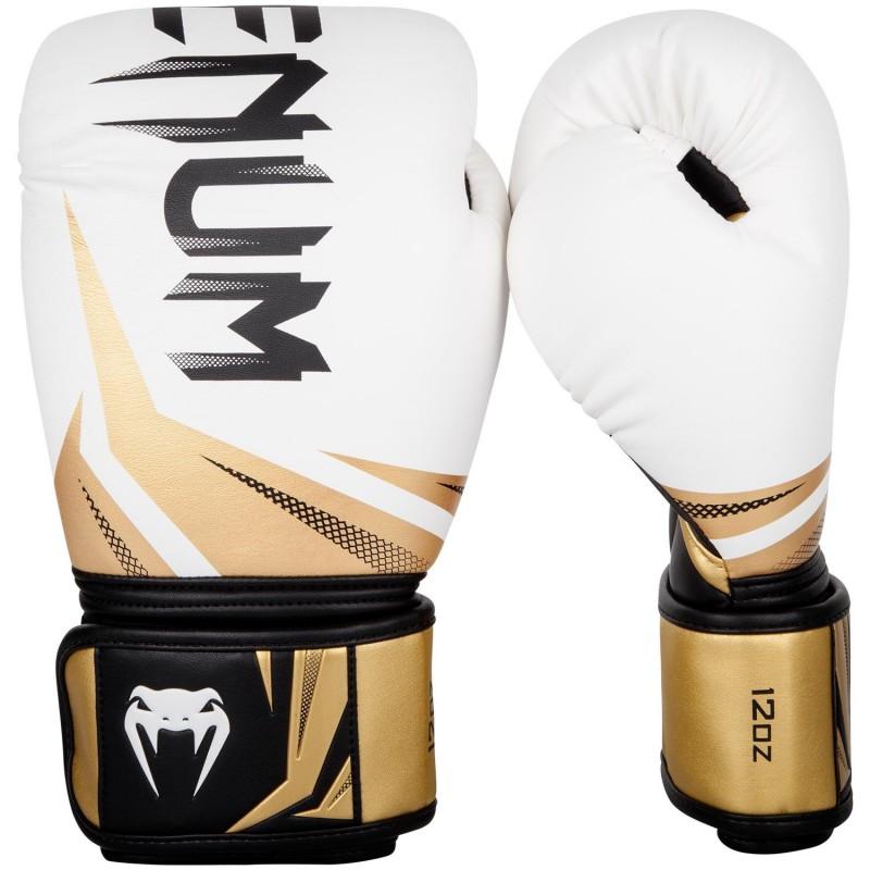 Venum Rękawice bokserskie Challenger 3.0 Białe/Złote