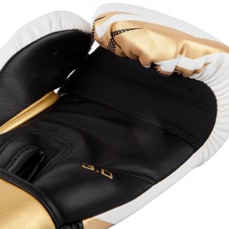 Venum Rękawice bokserskie Challenger 3.0 Białe/ Złote 4