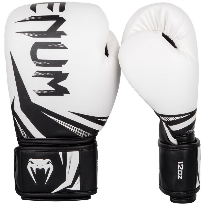 Venum Rękawice bokserskie Challenger 3.0 Białe/Czarne