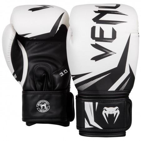 Venum Rękawice bokserskie Challenger 3.0 Białe/ Czarne 2