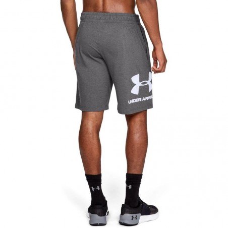Under Armour Spodenki Sportstyle Cotton Graphic Szare 3