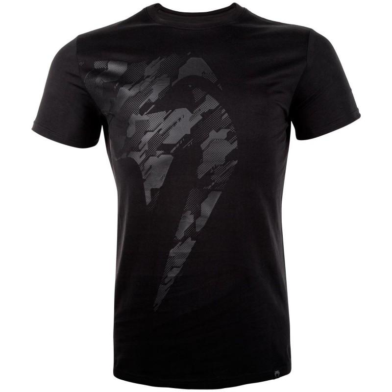 Venum T-shirt Tecmo Giant Czarny/Czarny