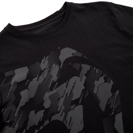 Venum T-shirt Tecmo Giant Czarny/Czarny 5