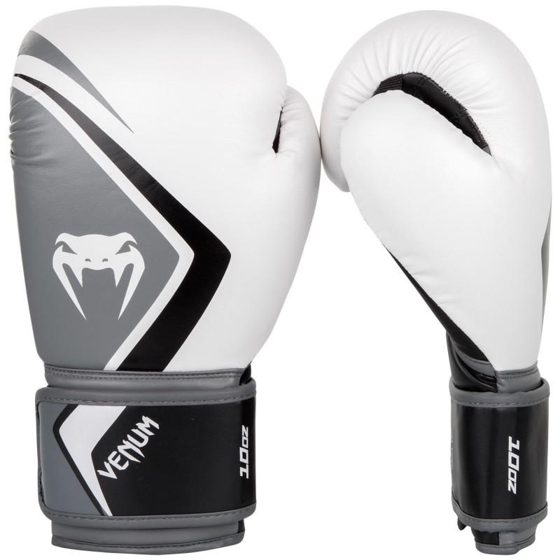 Venum Rękawice bokserskie Contender 2.0 Białe/Szare
