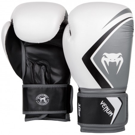 Venum Rękawice bokserskie Contender 2.0 Białe/Szare 2