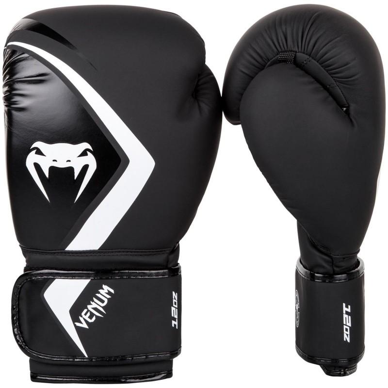 Venum Rękawice bokserskie Contender 2.0 Czarne/Białe