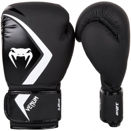 Venum Rękawice bokserskie Contender 2.0 Czarne/Białe 1