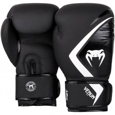 Venum Rękawice bokserskie Contender 2.0 Czarne/Białe 2