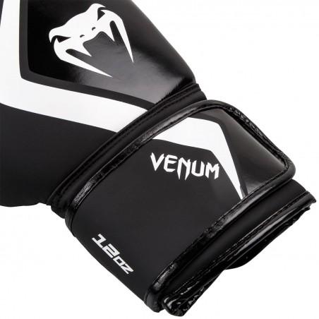 Venum Rękawice bokserskie Contender 2.0 Czarne/Białe 3