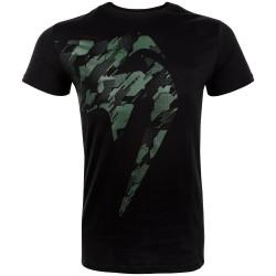 Venum T-shirt Tecmo Giant Khaki/Czarny 1