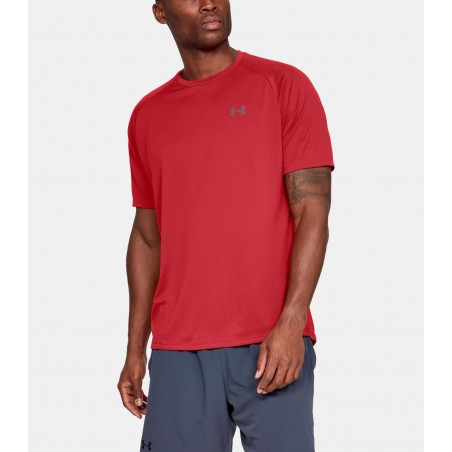 Under Armour HeatGear Tech Tee 2.0 Czerwony 1