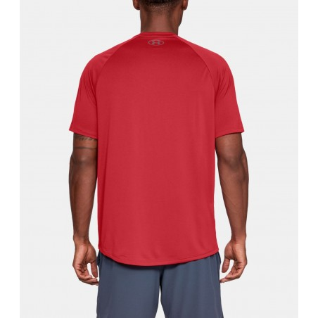 Under Armour HeatGear Tech Tee 2.0 Czerwony 2
