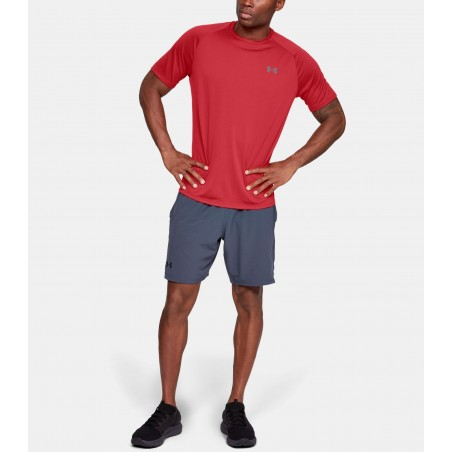 Under Armour HeatGear Tech Tee 2.0 Czerwony 3