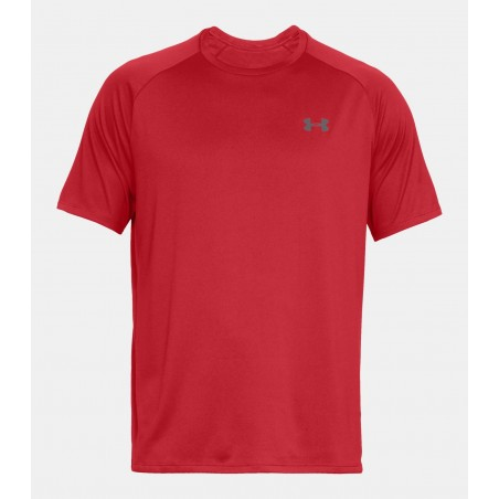 Under Armour HeatGear Tech Tee 2.0 Czerwony 4