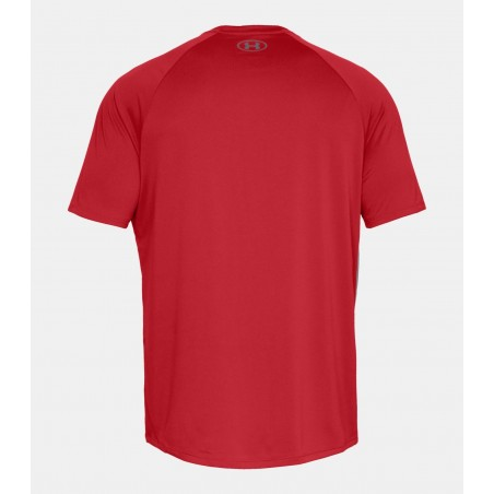 Under Armour HeatGear Tech Tee 2.0 Czerwony 5