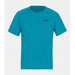 Under Armour HeatGear Tech Tee 2.0 Błękitny 1