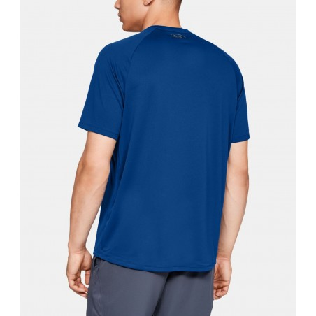 Under Armour HeatGear Tech Tee 2.0 Niebieski 2
