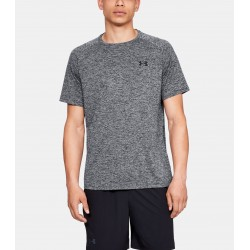 Under Armour HeatGear Tech Tee 2.0 Grafit Melanż 1