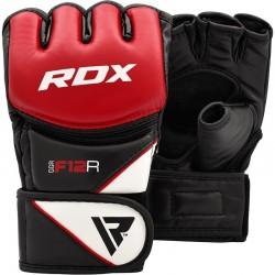 RDX Rękawice do MMA GGRF-12 Czerwone 1