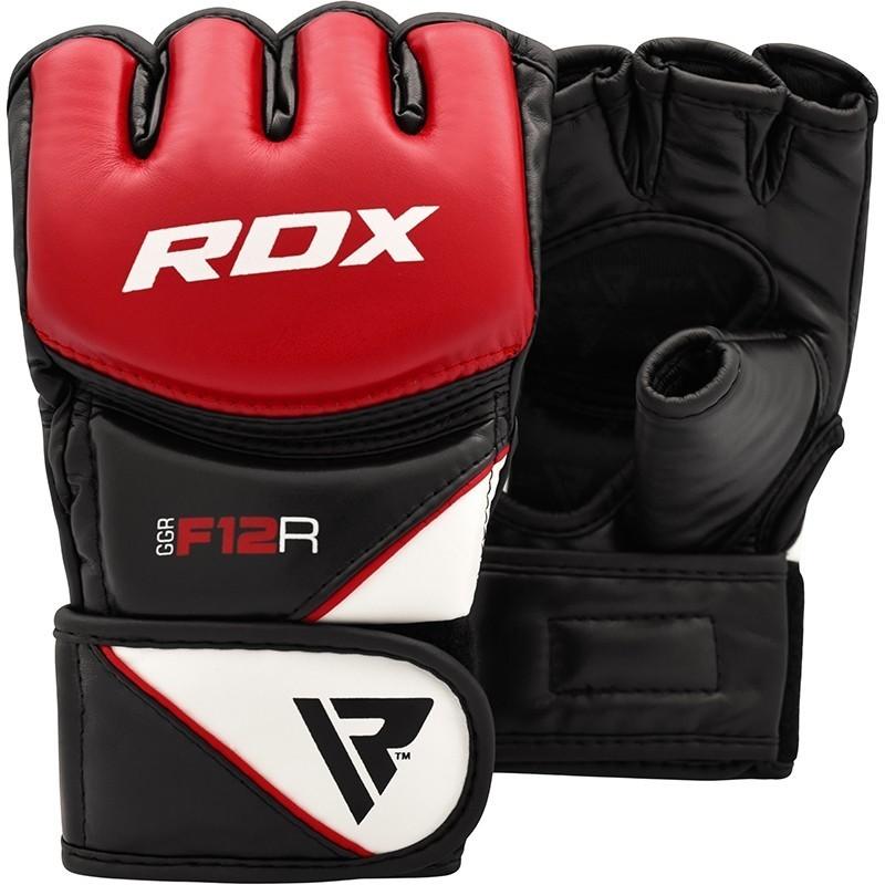 RDX Rękawice do MMA GGRF-12 Czerwone