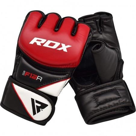 RDX Rękawice do MMA GGRF-12 Czerwone 3