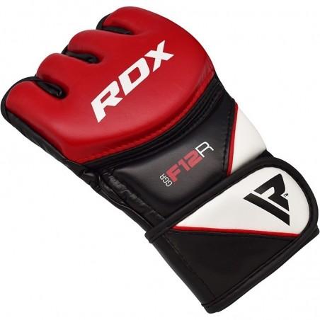 RDX Rękawice do MMA GGRF-12 Czerwone 6