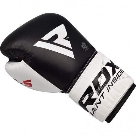 RDX Rękawice bokserskie S5 Czarne 4