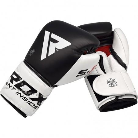 RDX Rękawice bokserskie S5 Czarne 7