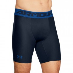 Under Armour Heatgear Armour 2.0 Compression Short Czarne/Niebieskie 1
