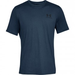 Under Armour HeatGear Tech Tee 2.0 Granatowy 1