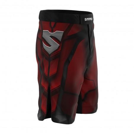 Smmash Spodenki MMA Red Warrior 2