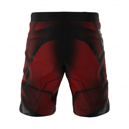 Smmash Spodenki MMA Red Warrior 3