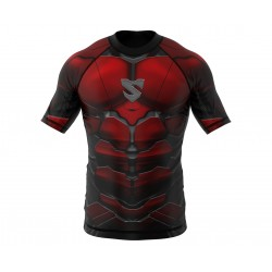 Smmash Rashguard Red Armour...