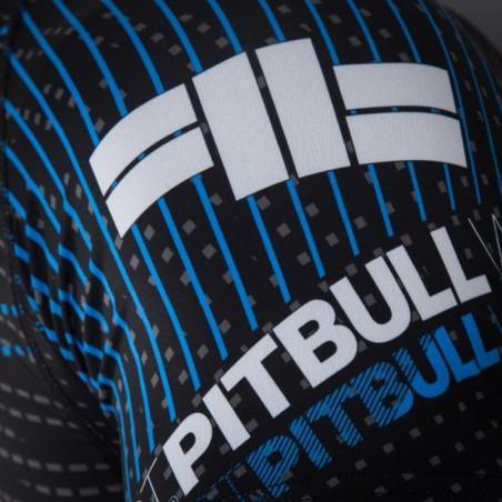 Pit Bull Rashguard Charger Krótki Rękaw Czarny 3